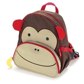 Mochila Escolar Infantil Skip Hop de Costas Zoo Macaco