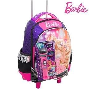 Mochilete Grande Barbie Rock`n Royals