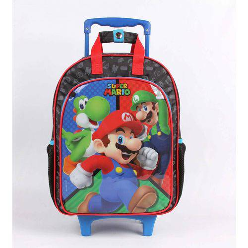 Tudo sobre 'Mochilete Grande Dmw Super Mario Bros 11538'