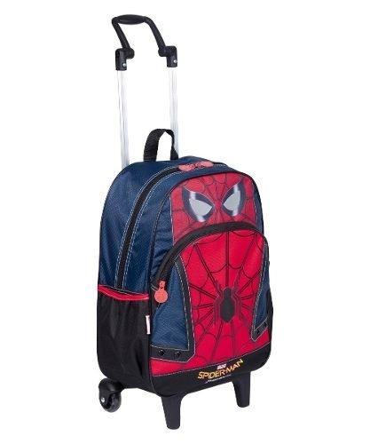 Mochilete Homem Aranha Spider Man 2018 Grande 18Y Original