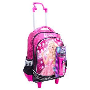 Mochilete Infantil G Sestini Barbie Rock'n Royals - Rosa