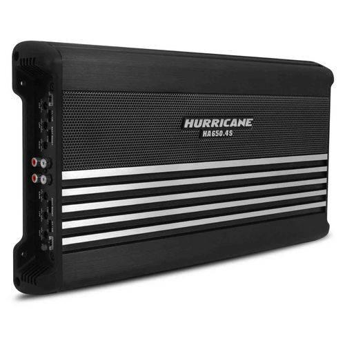 Tudo sobre 'Módulo Amplificador Hurricane Ha 650.4S 2600W Rms 4 Canais 2 Ohms Classe Ab'