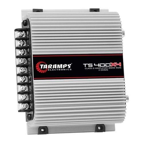 Tudo sobre 'Módulo Amplificador Taramps Ts-400x4 Digital 400 Rms 4 Canais Class D'
