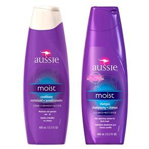 Moist Aussie - Kit Shampoo 400ml + Condicionador 400ml Kit