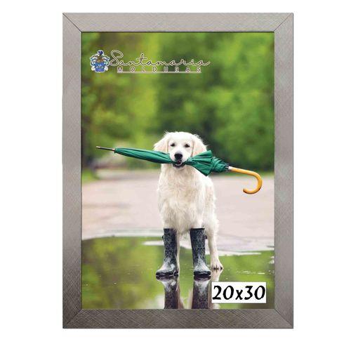 Moldura Porta Retrato 20x30 Prateado