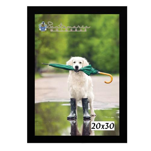 Moldura Porta Retrato 20X30 Preto