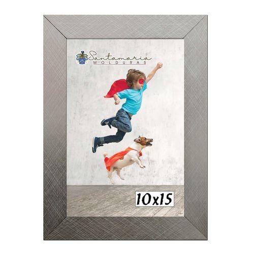 Moldura Porta Retrato 10x15 Prateado