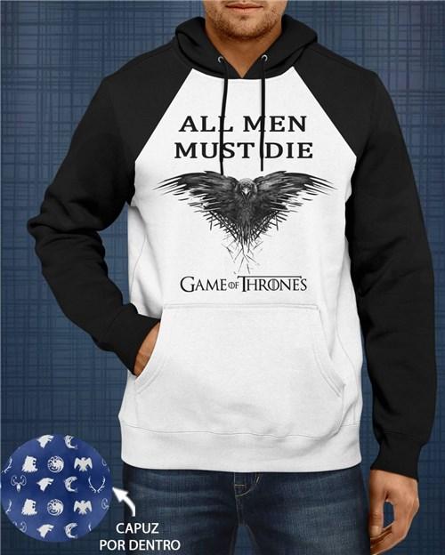 Moletom Raglan - Game Of Thrones - Corvo