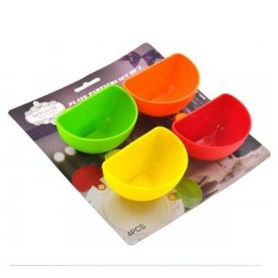 Molheira com Suporte para Pratos F9 Multicolorido Potinhos de Molho para Pratos F9