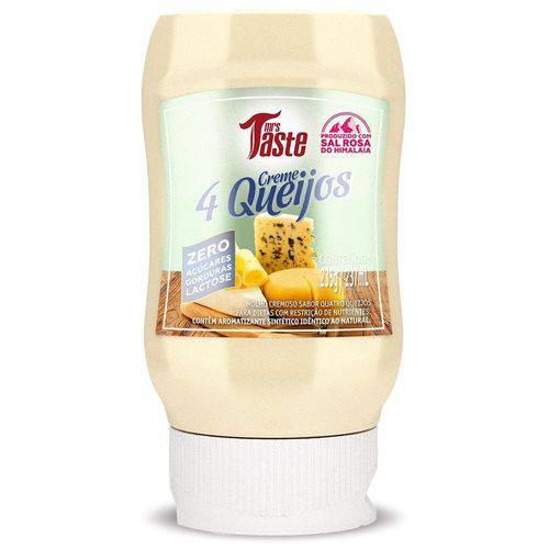 Molho Creme 4 Queijos - Mrs Taste - 235g