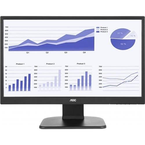 """Monitor 21,5"""" Led AOC - Altura e Rotação - Full Hd - Hdmi - Dvi - Vesa - E2270pwhe"""