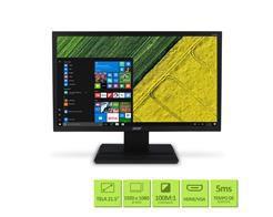 "Monitor 21,5"" LED ACER - VGA - Vesa - FULL HD - HDMI - DVI - Inclinacao 25O - V226HQL"