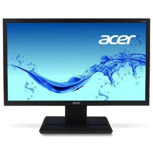 Monitor Acer 21.5in Led 1920x1080p 5ms Dvi/vga Inclinação Vertical de -5° a 25° V226hql