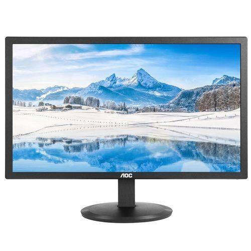 Monitor Aoc Led 21.5 Widescreen Preto E2280swdn