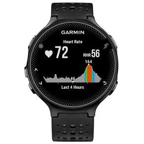 Monitor Cardíaco Garmin Forerunner 235 - Preto/Prata