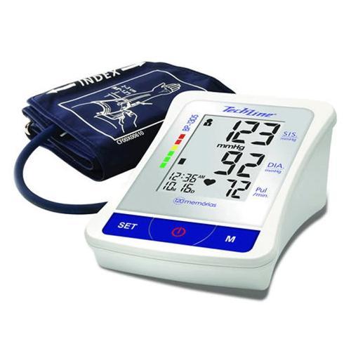 Tudo sobre 'Monitor de Pressão Arterial de Braço Techline Bp-1305'