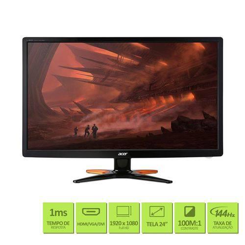 Tudo sobre 'Monitor Gamer Acer 24'' Full HD IPS HDMI VGA - GN246HL'