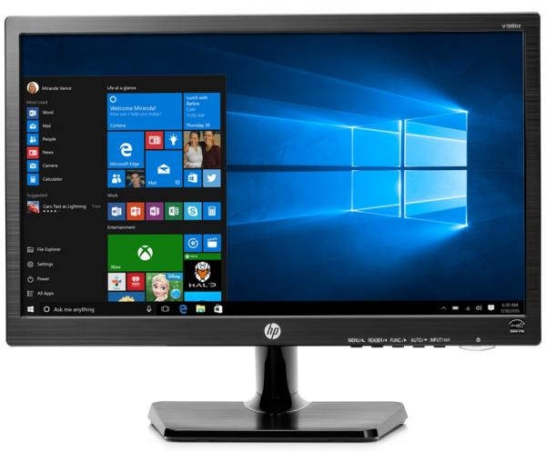 "Monitor HP 18,5"" LED V198bz G2"