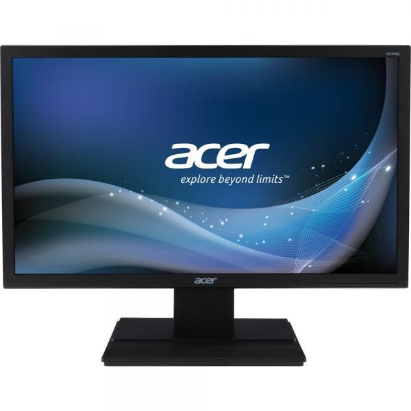 Monitor LED 21.5 ACER V226HQL 21,5 LED 1920X1080 Widescreen FULL HD HDMI VGA VESA Preto