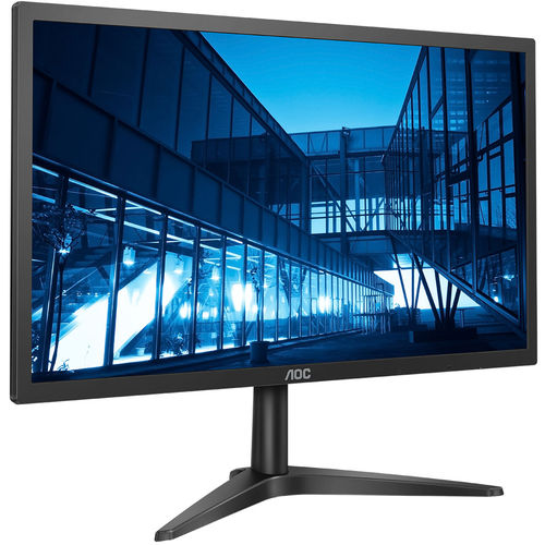 "Monitor LED 21.5"" AOC Widescreen Full HD 22B1H Preto"