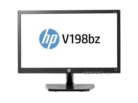 "Monitor Led 18.5"" Hp V198bz Preto - 91 - Hp"