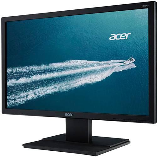 """Monitor LED 19.5"""" Acer V206HQL HD VGA - Preto"""