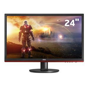"""Monitor LED 24"""" AOC Full HD Gamer Sniper G2460VQ6 com AMD Freesync, Anti-Blue Light, Shadow Control e Entrada HDMI"""