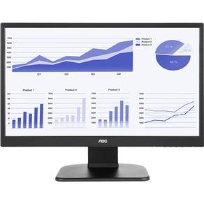 """Monitor LED AOC 21,5"""" Widescreen E2270PWHE"""