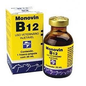 Tudo sobre 'Monovin B12 20ml Bravet'