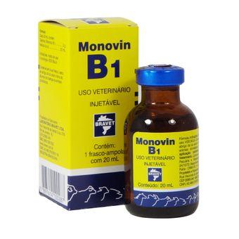Monovin B1 Bravet Injetável 20ml