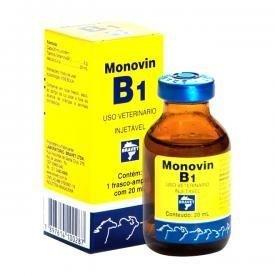 Monovin B1 Injetável 20 Ml Bravet