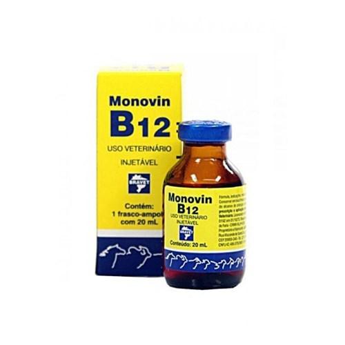Monovin B12 Injetável 20Ml Bravet