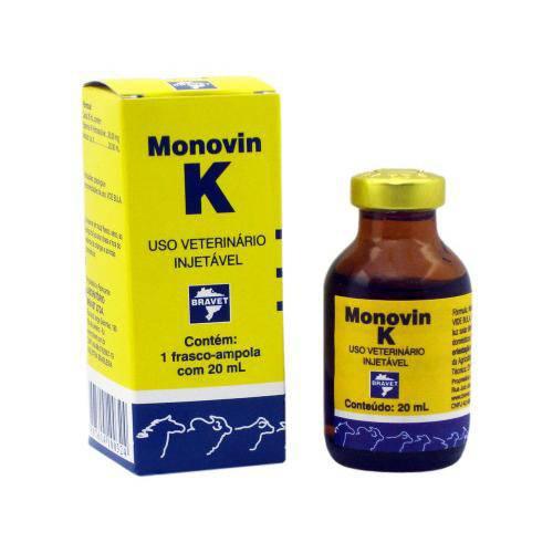 Monovin K Injetável 20 Ml - Bravet