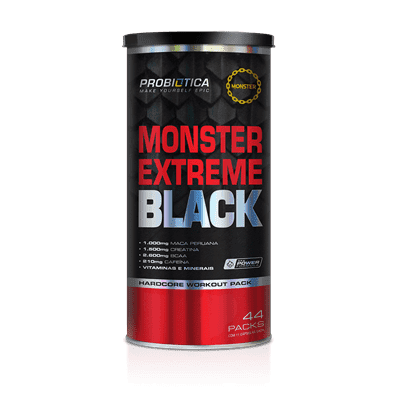 Monster Extreme Black - Probiótica (44 PACK)