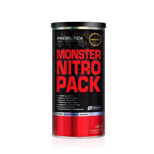 Tudo sobre 'Monster Nitro Pack Probiótica 44 Packs'