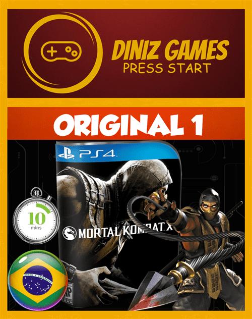 Tudo sobre 'Mortal Kombat X Psn Ps4 (Original**)'