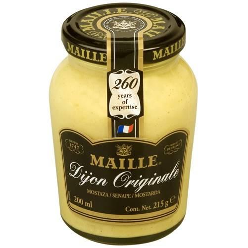 Tudo sobre 'Mostarda Fra Dijon Original 215g - Maille'