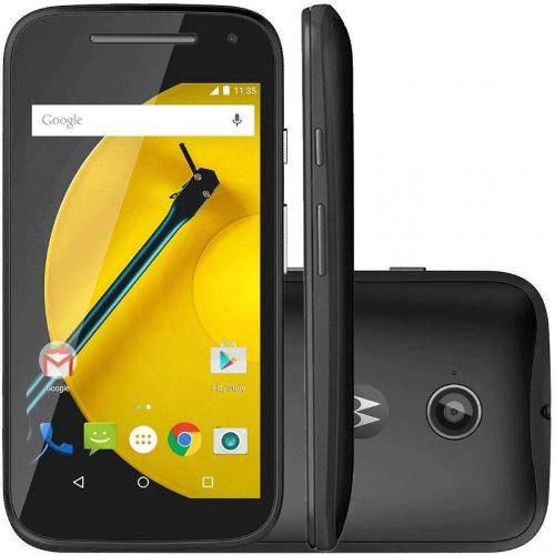 Tudo sobre 'Moto e 2ª Geração Ds 4g Xt1514 8gb Dual Chip Android Lollipop 5.0 Preto'