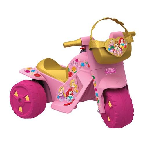 Moto Elétrica 6V Princesas Disney - Bandeirante