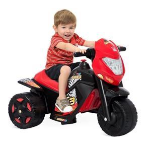 Moto Elétrica Infantil Ban Moto 6V Preto 2592 - Bandeirante