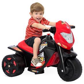 Moto Elétrica Infantil Bandeirante Ban Moto 6V - Preto