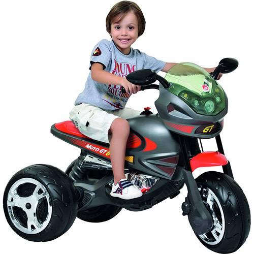 Tudo sobre 'Moto Elétrica Infantil Super Moto GP Grafite 6v - Bandeirante'