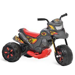 Moto Elétrica Infantil XT3 Duas Marchas Grafite 2702 - Bandeirante