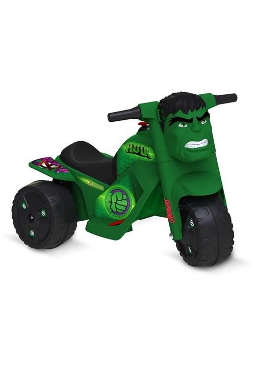 Moto Hulk Elétrica 6V Bandeirante Verde