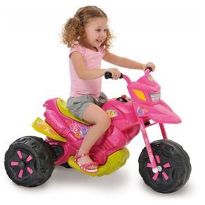 Moto Infantil Feminina X3 Fashion, Bandeirante