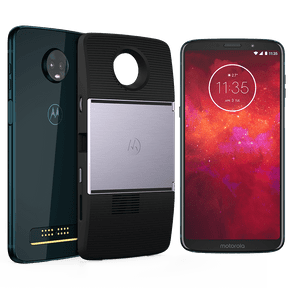 Moto Z3 Play - Projector Edition 64GB - Índigo