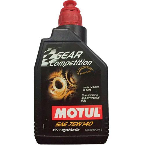 Tudo sobre 'MOTUL 75W140 Gear Competition Sintético 1L'