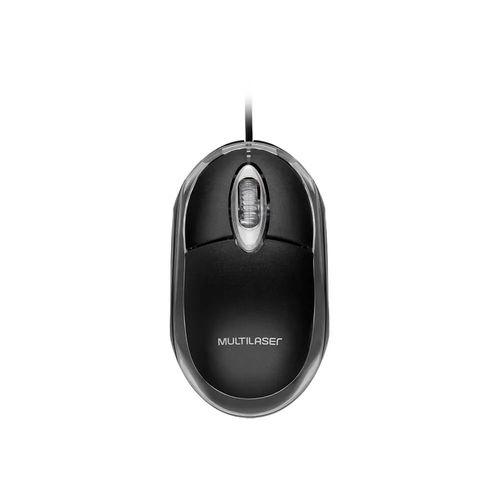 Mouse Classic Box Optico Preto Usb