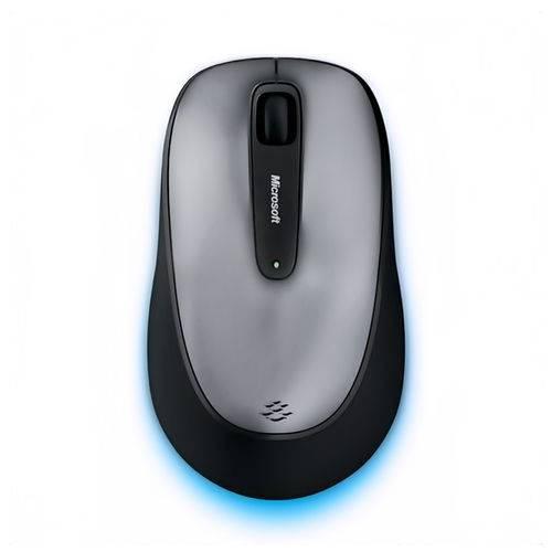 Mouse com Fio Comfort Usb Preto/cinza Microsoft - 4fd00025