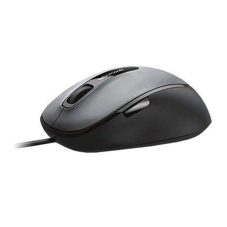 Mouse com Fio Microsoft Comfort Usb Pretocinza - 4Fd00025
